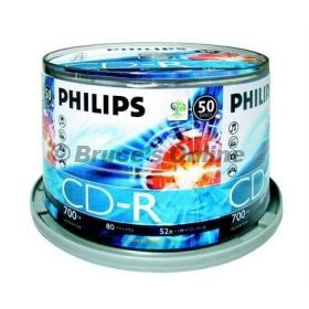 Philips 52X 50 Spindle CD-R