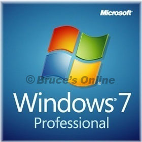 Windows 7 Pro Full Version 64 bit OEM