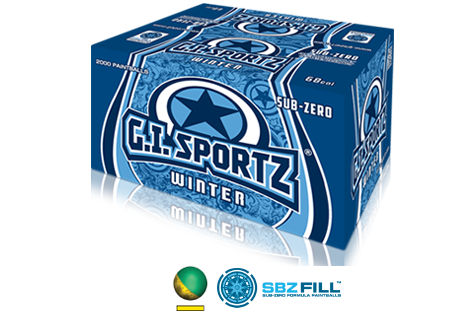 GI Sportz Winter balls 2000 Rounds
